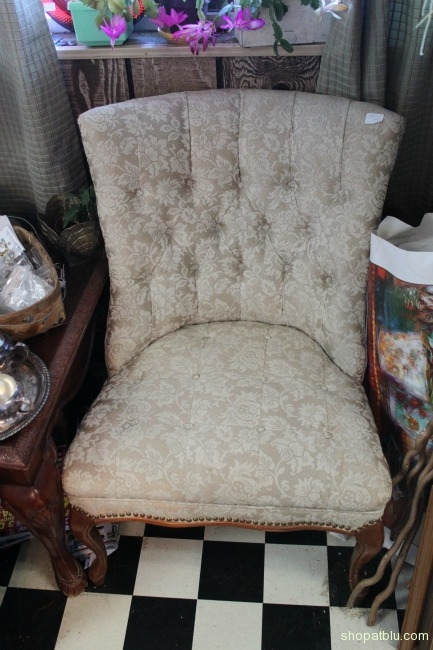 the blue building shopatblu antiques home decor armless chair
