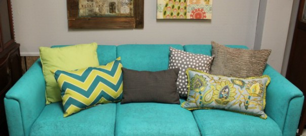 Turquoise Sofa Simple Top Sofas For Small Spaces U