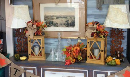 Thanksgiving Home Decor At The Blue Building