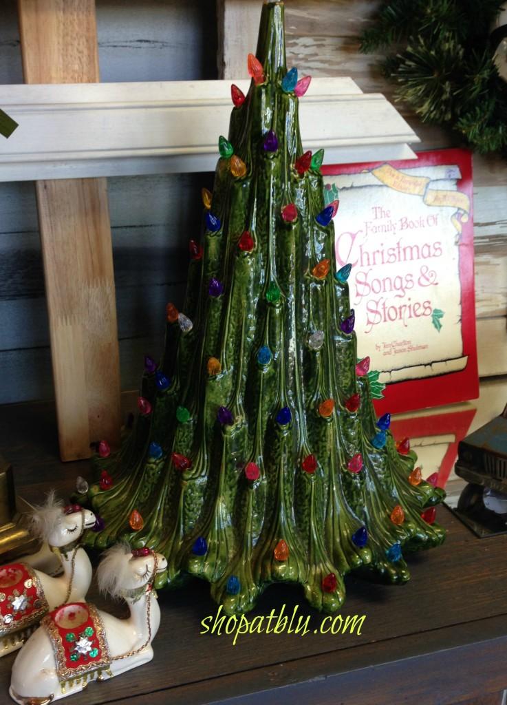 the blue building shopatblucom pray for peace ceramic christmas tree vintage camels shop at blu - Vintage Ceramic Christmas Tree