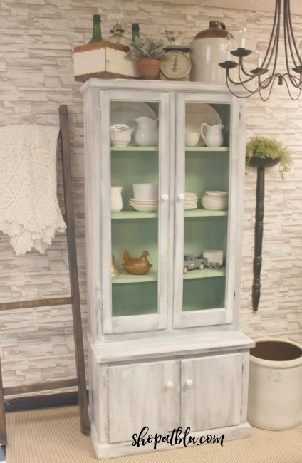the-blue-building-shopatblu-antiques-OFMP-Farmhouse-milk-paint-snow-tavern-green