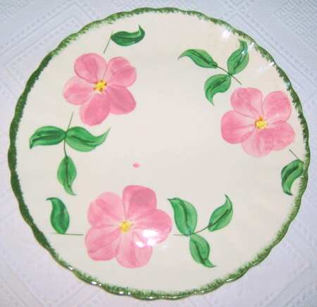 Blue Ridge Pottery china patterns Prairie Rose at The Blue Building Antiques and Consignment in Alabaster, AL.