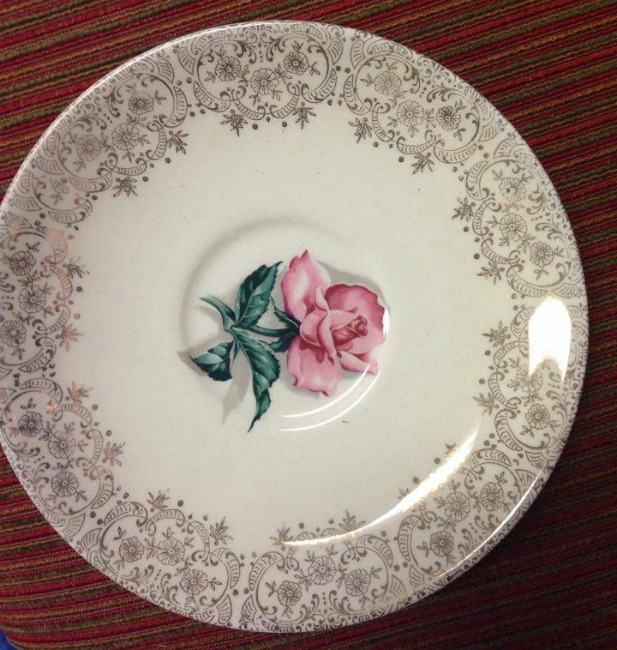 Taylor-Smith china patterns 5431 at The Blue Building Antiques in Alabaster, AL