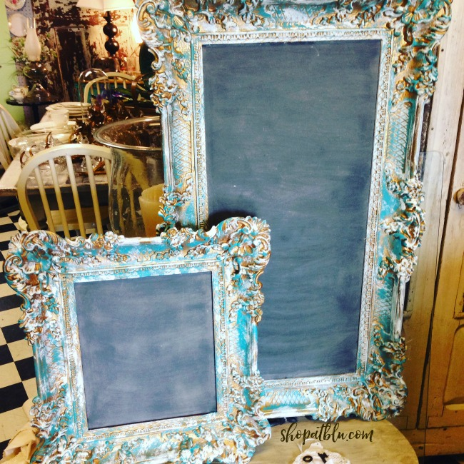 The Blue Building Antiques, Alabaster, AL Chalkboard Frames