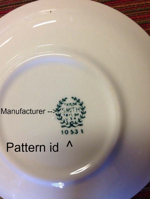 Maker's Mark on china patterns at The Blue Building Antiques in Alabaster, AL