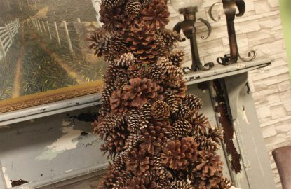 the-blue-building-shopatblu-pinescones-home-decor-pinecone-tree-mantle-staged