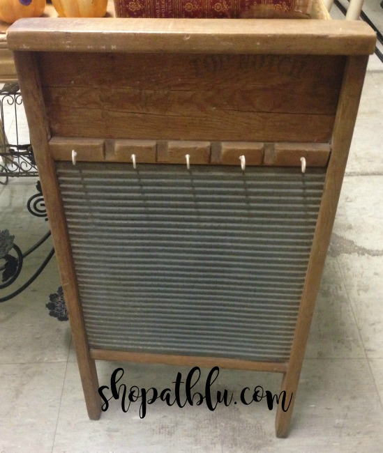 The Blue Building Antiques Alabaster AL Quick Upcycle Project Washboard