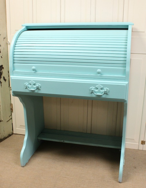 The Blue Building Antiques, Alabaster, AL HomeRight Paint Sprayer Small Roll Top Desk