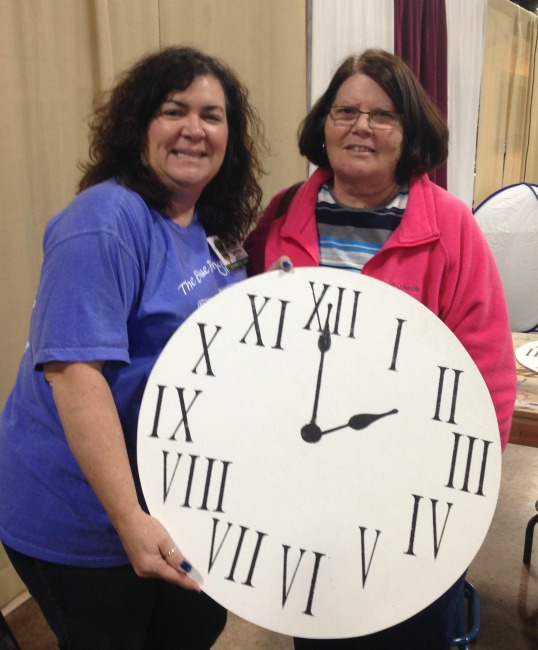 The Blue Building Antiques Alabaster AL shopatblu farmhouse clock class Linda