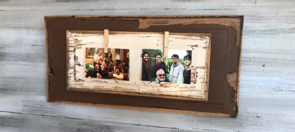 Diy picture frame with no power tools shop at blu diy picture frame with no power tools solutioingenieria Image collections