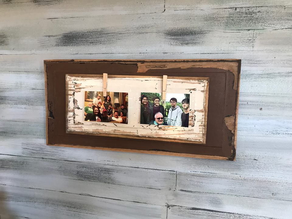 DIY Picture Frame with NO Power Tools - Shop at Blu